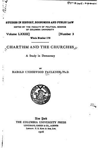 Chartism and the churches