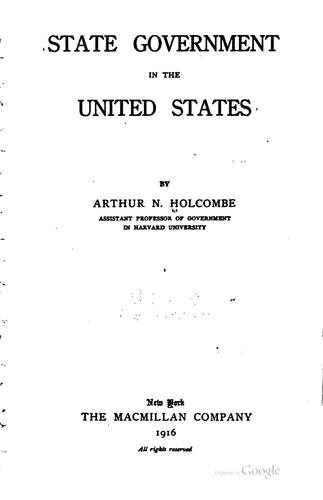 Download State government in the United States
