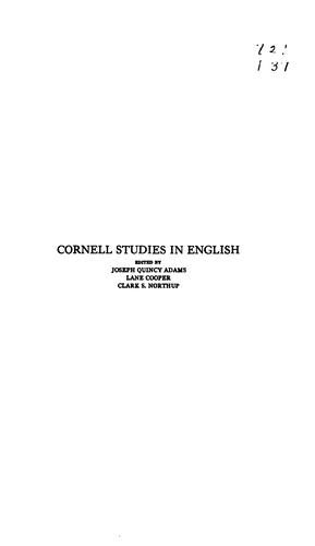 Download The influence of Horace on the chief English poets of the nineteenth century