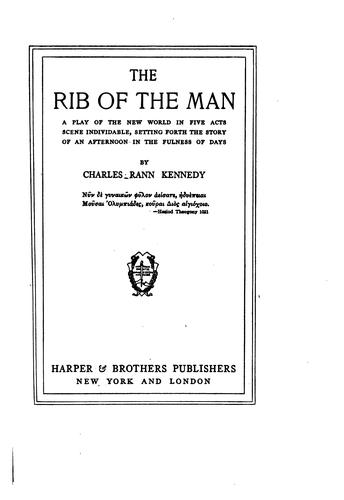 The rib of the man