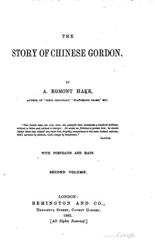 Download The story of Chinese Gordon.