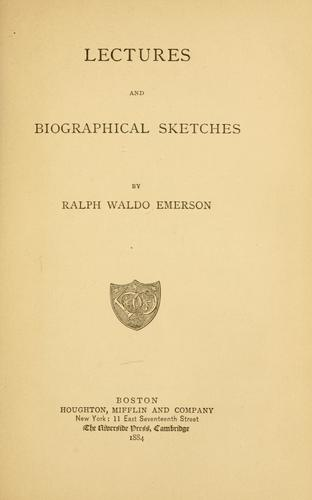 Download Lectures and biographical sketches