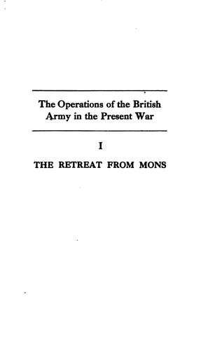 Download The retreat from Mons
