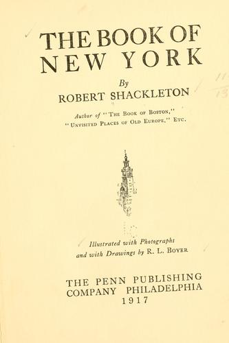 Download The book of New York