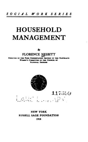 Download Household management