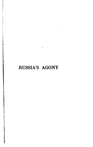 Download Russia's agony