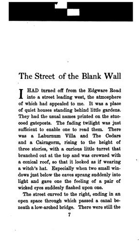 Download The street of the blank wall
