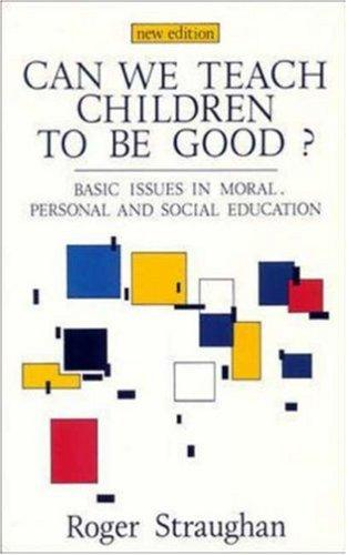 Download Can we teach children to be good?