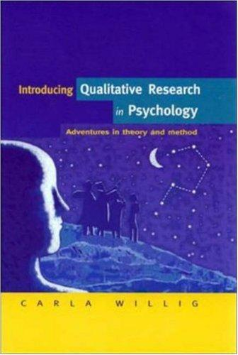 Download Introducing Qualitative Research in Psychology