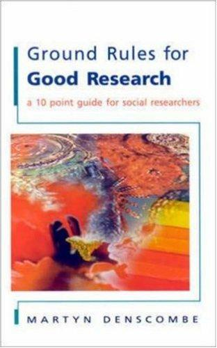 Download Ground Rules for Good Research