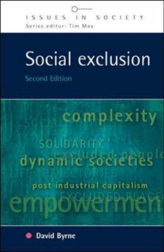 Download Social Exclusion (Issues in Society)