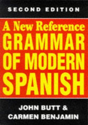 Download A new reference grammar of modern Spanish