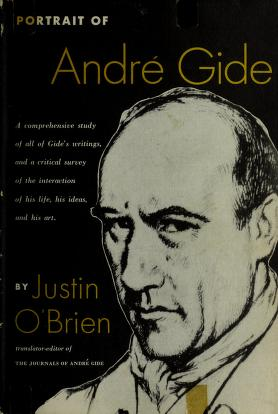 Cover of: Portrait of André Gide | O'Brien, Justin