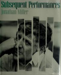 Cover of: Subsequent performances | Jonathan Miller