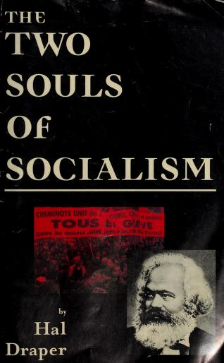 Cover of: Two Souls of Socialism   Hal Draper