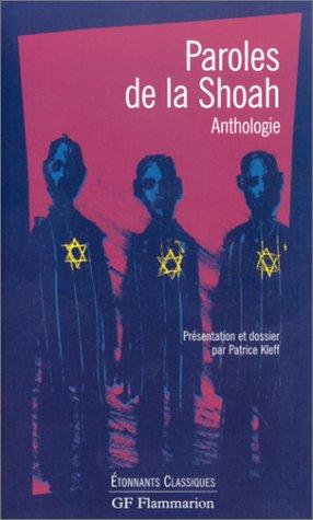 Paroles de la Shoah by Patrice Kleff