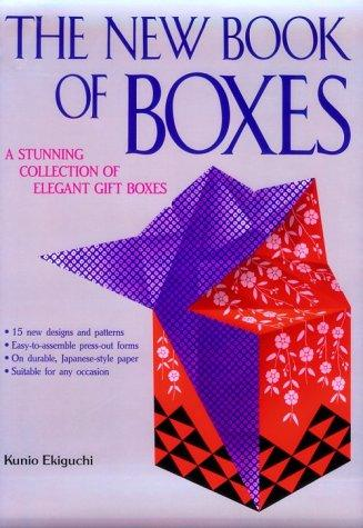 The new book of boxes by Kunio Ekiguchi
