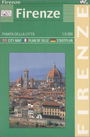 Town Plan Firenze Greater by Litografia Artistica Cartografica