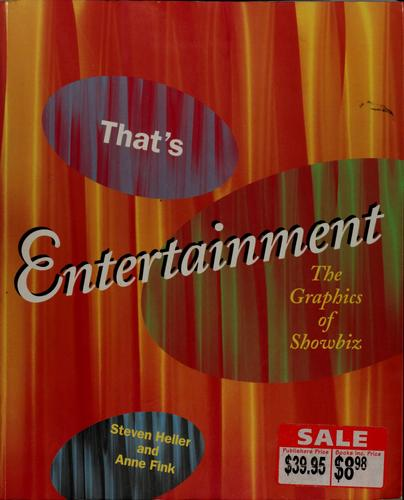 That's entertainment by Steven Heller