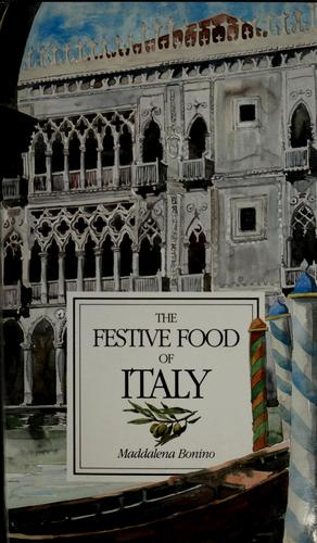 The festive food of Italy