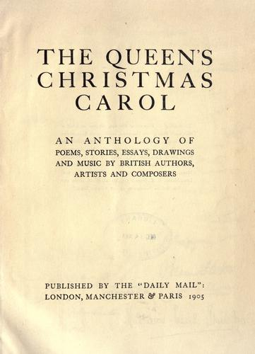 The Queen's Christmas carol by