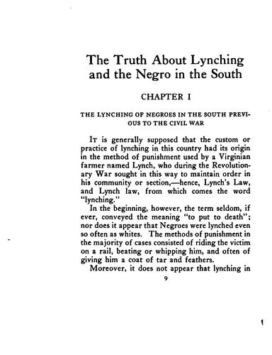 The truth about lynching and the Negro in the South by Winfield Hazlitt Collins