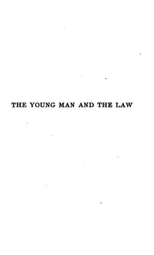 The young man and the law.