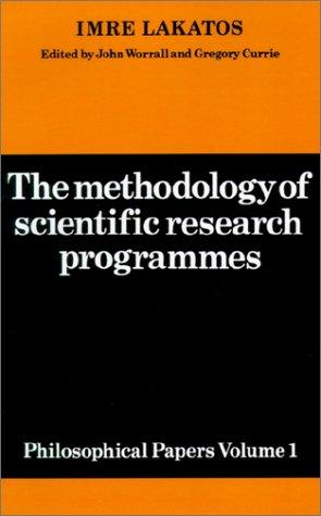 The Methodology of Scientific Research Programmes by Imre Lakatos