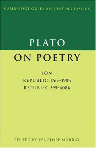 Plato on poetry by Plato