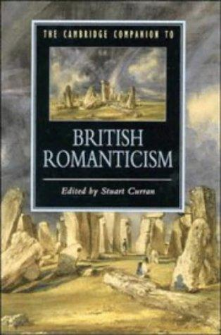 The Cambridge companion to British romanticism by