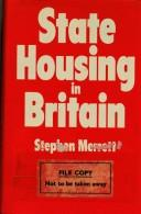 State housing in Britain by Stephen Merrett
