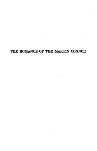 The romance of the Martin Connor by Oswald Kendall