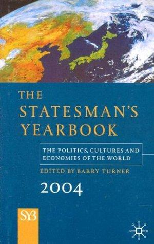 The Statesman's Yearbook 2004 by Barry Turner